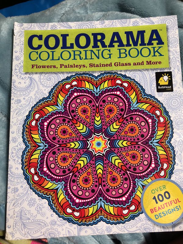 Colorama Coloring Book For Sale In National City CA