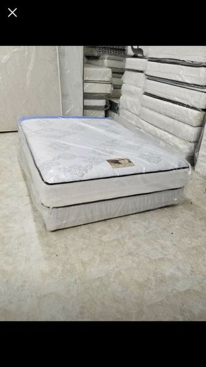Queen size mattress and box spring for Sale in Washington, DC