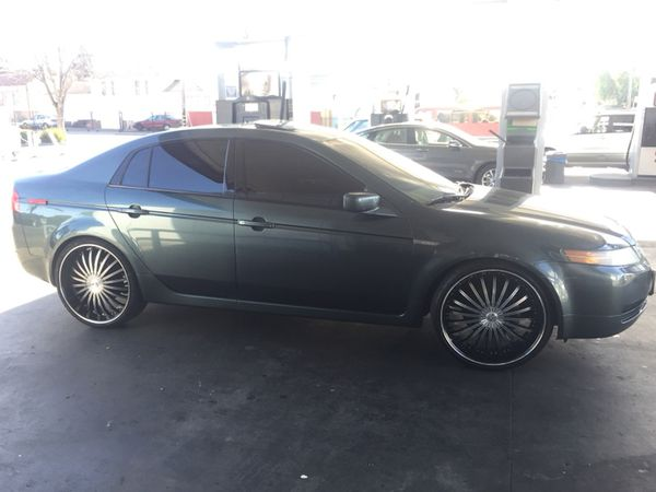 Acura Tl Running Strong On 22s For Sale In Oakland Ca Offerup