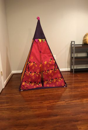 B teepee tent for Sale in Hanover, MD