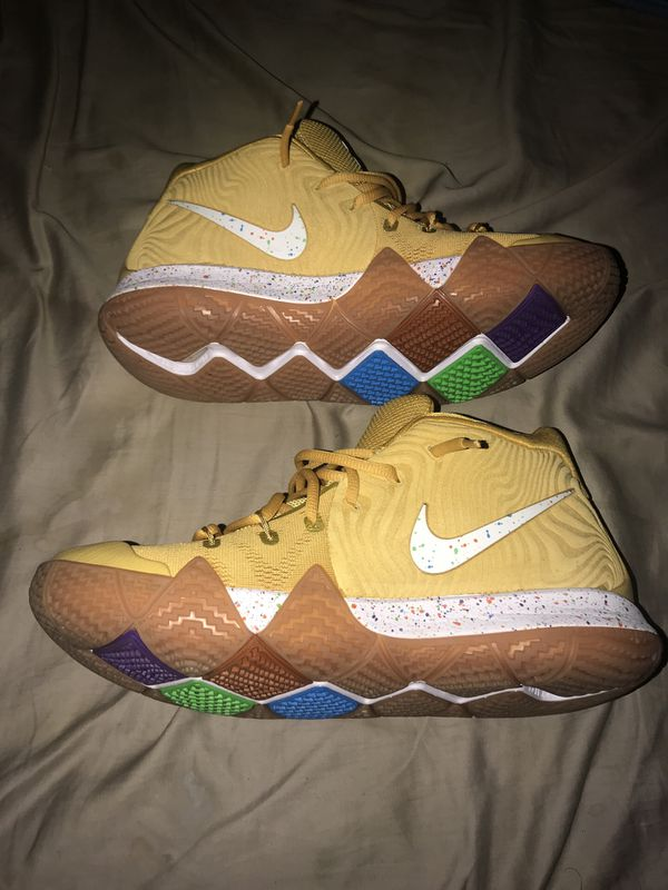 low priced dff12 7540c Kyrie 4's Cinnamon Toast Crunch for Sale in Hayward, CA - OfferUp