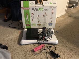 Wii fit plus edition for Sale in Rockville, MD