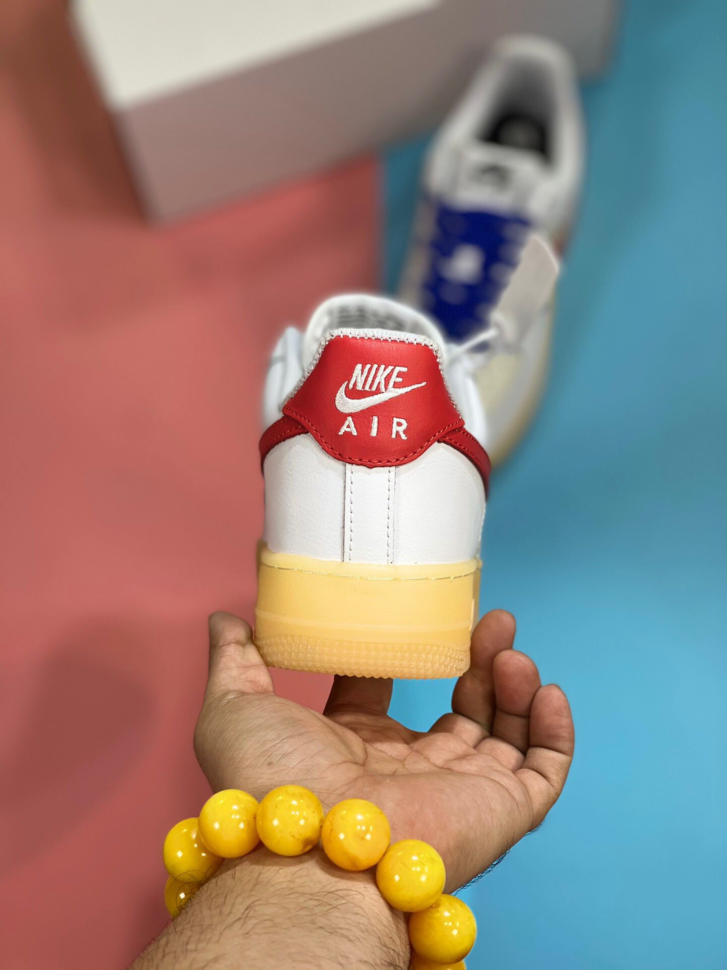 NIKE Air force1 structuralist style of air force 1 20 years exclusive custom limited edition