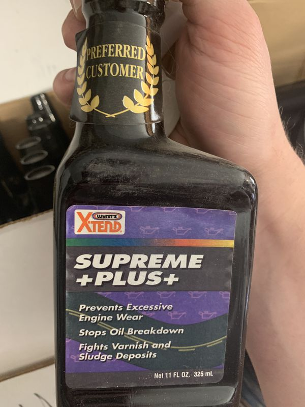 Engine Oil additive- great for OLD/CLASSIC or HIGH MILEAGE cars  ENGINE Oil  fluid Wynn's Xtend Supreme plus +plus+ for Sale in Roseville, CA -