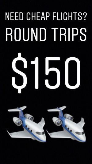 Need Cheap Round Trips Or One Ways ? for Sale in Miami, FL