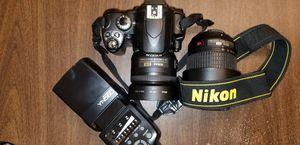 Nikon D40 with Lenses $300 OBO for Sale in Washington, DC