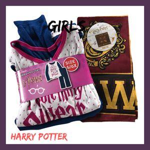 Photo NWT Girls Harry Potter 3pc Set Sz:6/6X