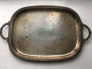 Silver Serving Tray – Leonard Silverplate for Sale in Fairfax, VA