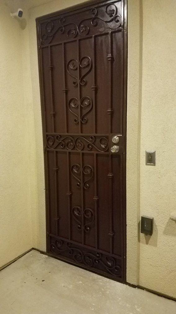 Custom Made Security Screen Doors And Gates Reasonable
