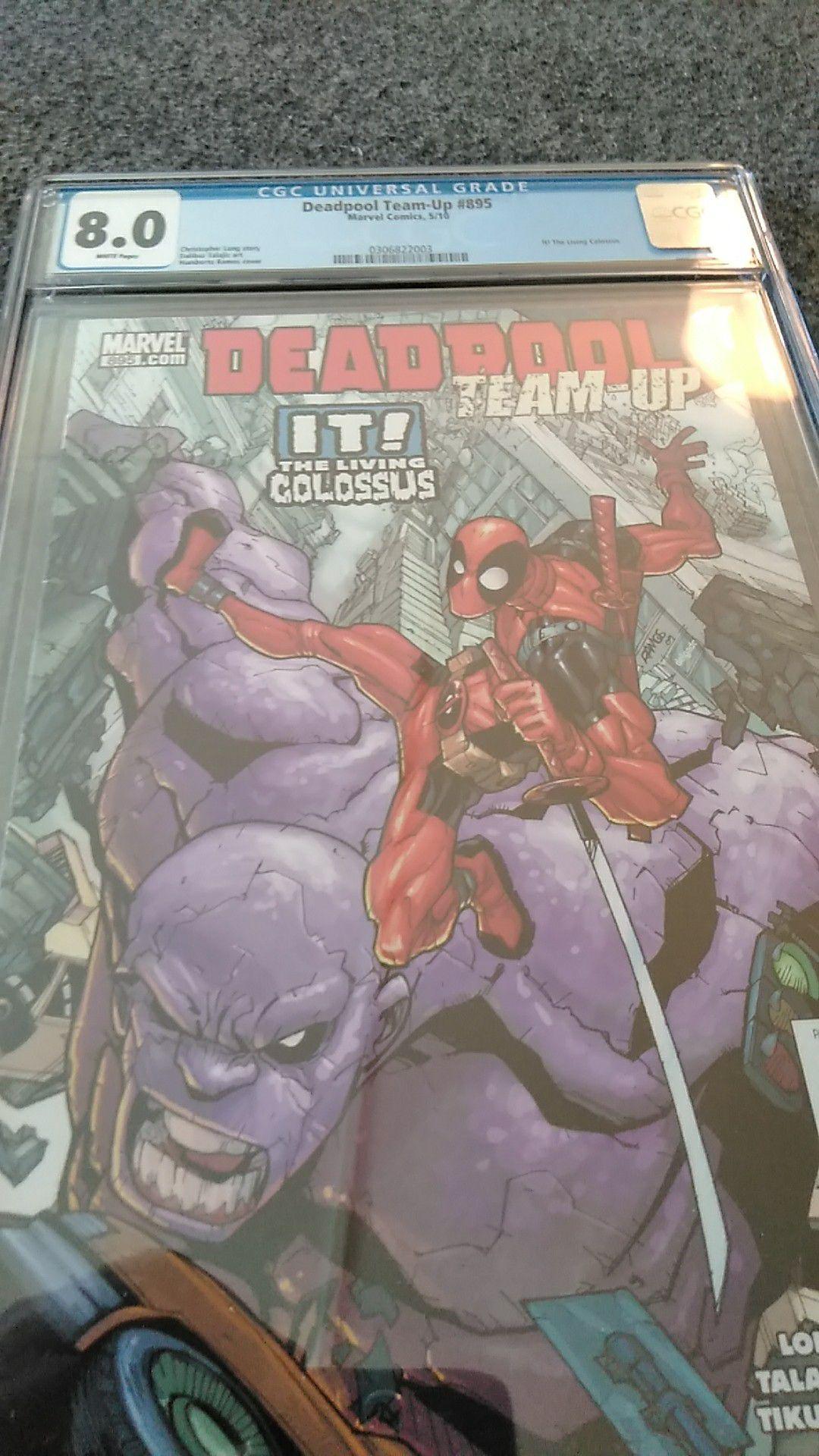 Deadpool Team-Up #895 CGC 8.0