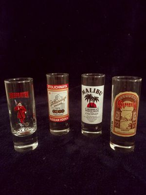 Set of Collectible Shot Glasses for Sale in Las Vegas, NV