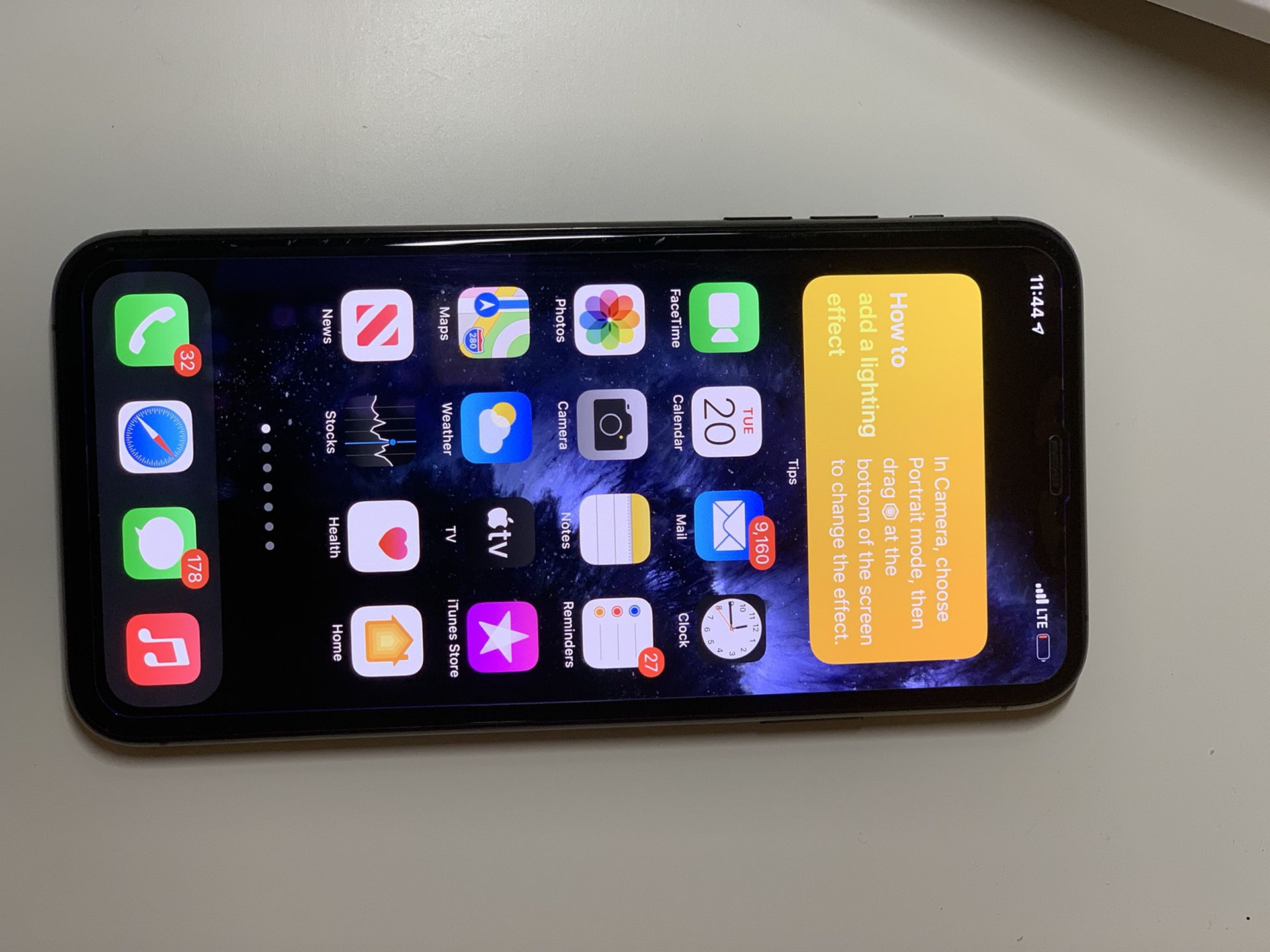 Gray iPhone 11 pro max 256Gb in great conditions