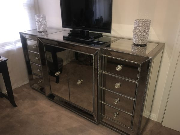New Z Gallerie Omni Mirrored Buffet For