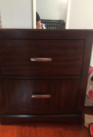 Wooden nightstand for Sale in Leesburg, VA