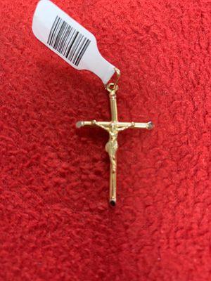GOLD CHARM CROSS 14k for Sale in Saint Cloud, FL