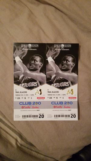 Golden State Warriors tickets for Sale in San Francisco, CA
