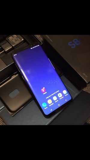 Samsung Galaxy,S8+,64gb...Factory Unlocked Excellent Condition for Sale in Springfield, VA
