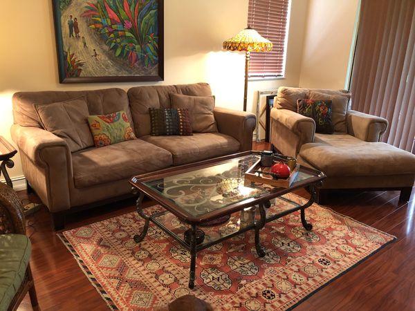Soft Microfiber Sofa Chaise Lounge Furniture In Boca Raton Fl Offerup