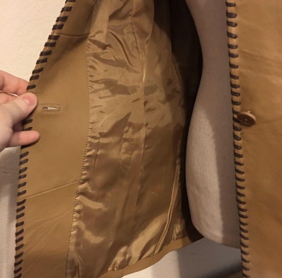 Metro Style western style leather jacket NWOT 8