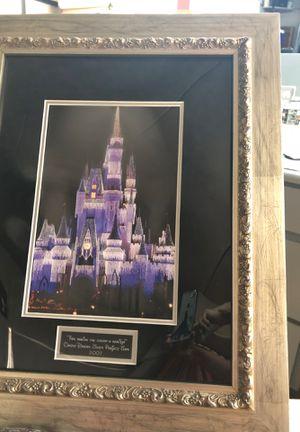 Photo Disney Castle Print