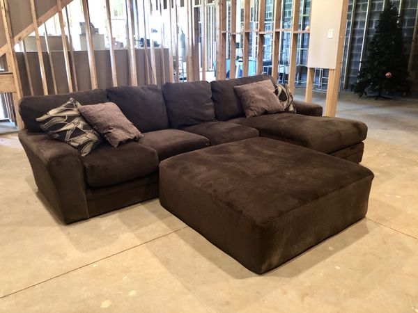 Super Comfy Plush Sectional Sofa With