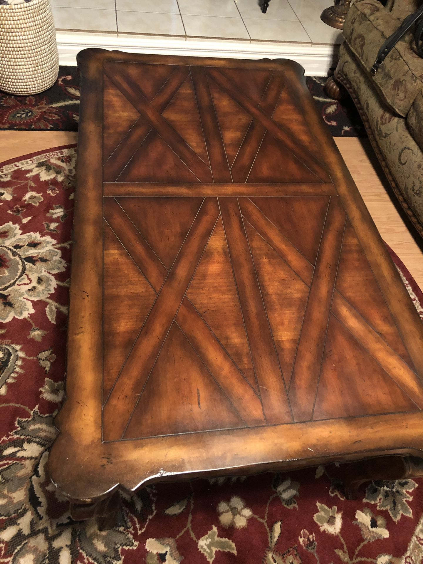Rich wood Coffee table