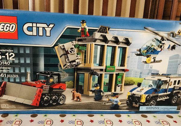 Lego City Police Bulldozer Break In 60140 Brand New In The Box 561