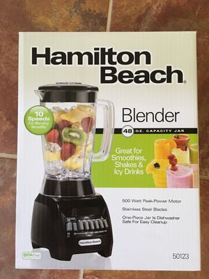 Brand New Hamilton beach blender for Sale in Sterling, VA
