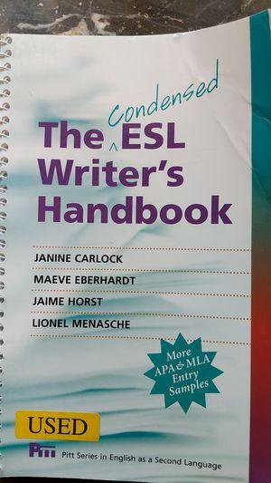 the condensed esl writers handbook
