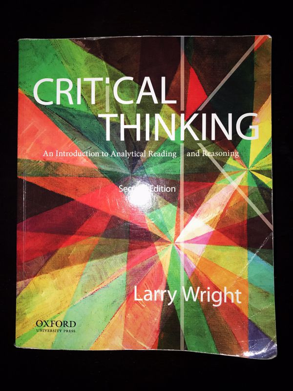 critical thinking larry wright