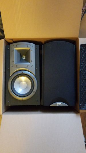 Klipsch Synergy B2 Bookshelf Black Speakers 75w 8 Ohms One Pair For Sale In