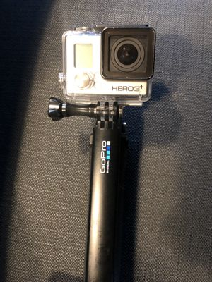 GoPro 3+ two batteries / 2 memory cards included / charger for two batteries included for Sale in Chicago, IL