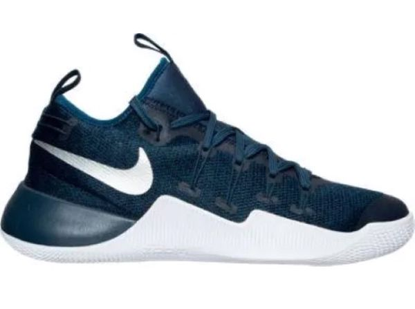 5fd5b842c3ac Men s Nike Hypershift Basketball Squadron Blue Metallic Silver White Sizes  are 10-11 and 12 844369 410