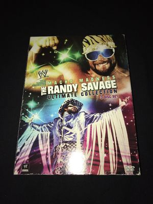 Macho Madness The Randy Savage Ultimate Collection for Sale in Pittsburgh, PA
