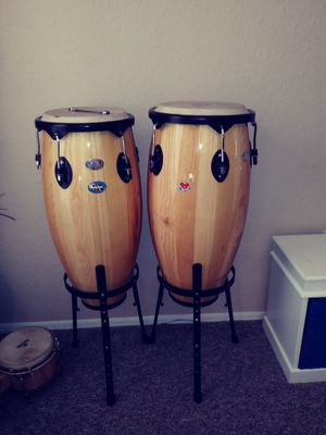 Congas and Drums & Lamps ,3Table Set for Sale in Kissimmee, FL