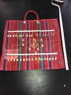 Beach bag or grocery store bag heavy duty waterproof Thumbnail