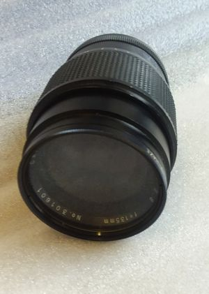 CAMBRON f/2.8 135mm SLR DSLR Mirrorless Camera Lens With filter Vivitar for Sale in Takoma Park, MD