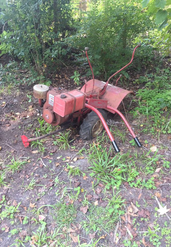 Briggs and Stratton tiller and bomag BT 500 handheld pedestal packer for  Sale in Summerville, SC - OfferUp