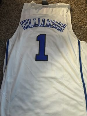 best loved 686b9 4ed05 Zion Williamson Jersey for Sale in Morton, IL - OfferUp