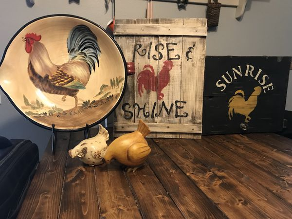 Rooster Decorations For Sale In Lakeland Fl Offerup