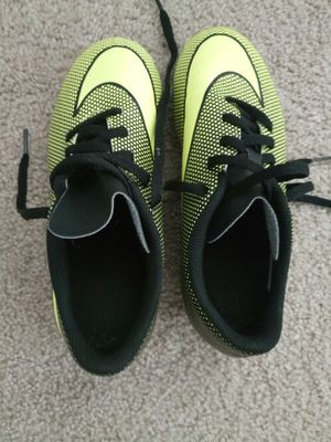 Kids soccer cleats 1.5Y for Sale in Fairfax, VA