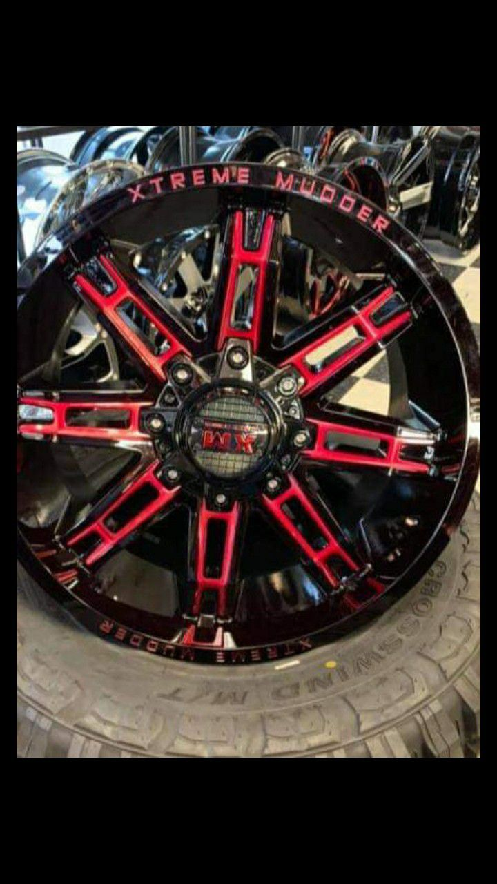 20×12 MONKEY WHEELS AND TIRES ³³¹²⁵⁰²⁰