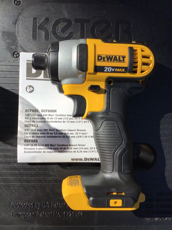 Dewalt 24v Cordless Impact Wrench New Never Used Tool Only 70 Firm