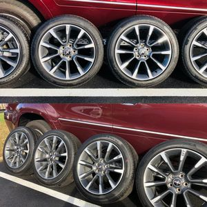 Ford Mustang GT California Special 10 Spoke 4x 5x114.3 Wheels Rims & Tires 245/45/R19 for Sale in Alexandria, VA