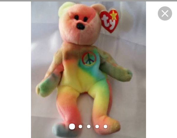 d7fe5a9d565 Rae T.y Beanie Baby Peace Bear for Sale in Fort Pierce