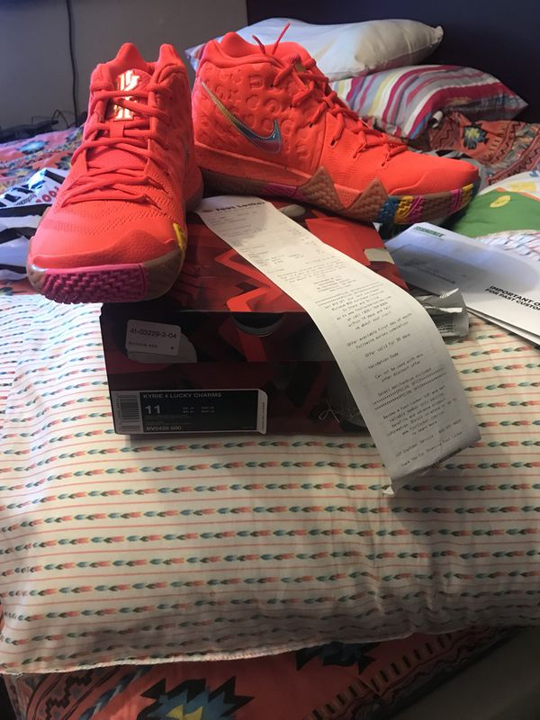 finest selection 1e287 93c1e Kyrie 4 (Lucky Charms) Size 11 Limited Edition DS for Sale in Cleveland, OH  - OfferUp
