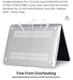 $20 - Mac Pro 13.3 Clear Case 2020 Model Thumbnail