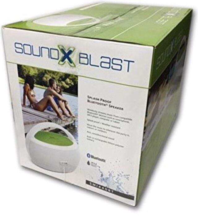 Bluetooth Speaker, Waterproof, Rechargeable by Sound Blast (50% OFF)
