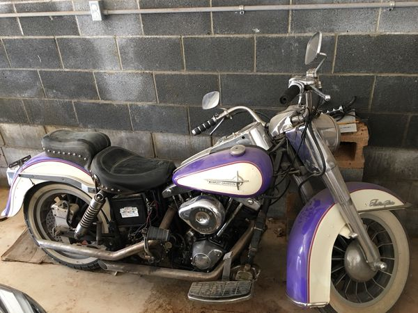76' Harley-Davidson shovelhead must sell now for Sale in Old Fort, NC -  OfferUp