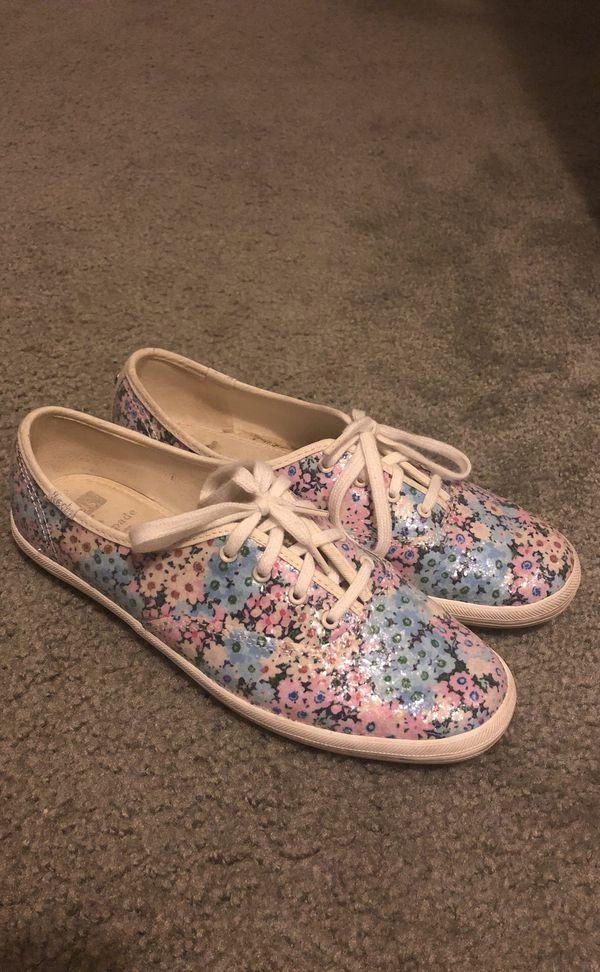 ee54c8a5f3c36 Keds x Kate Spade New York Champion Daisy Garden Glitter shoes for ...